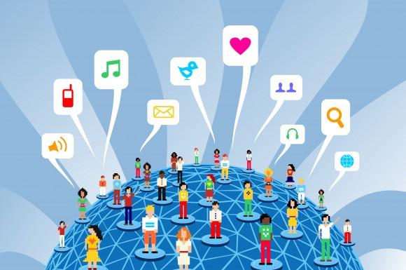 Managing social media community engement